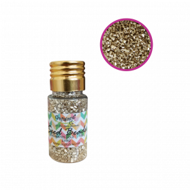 Glass Seed Beads - Enchanted Gold