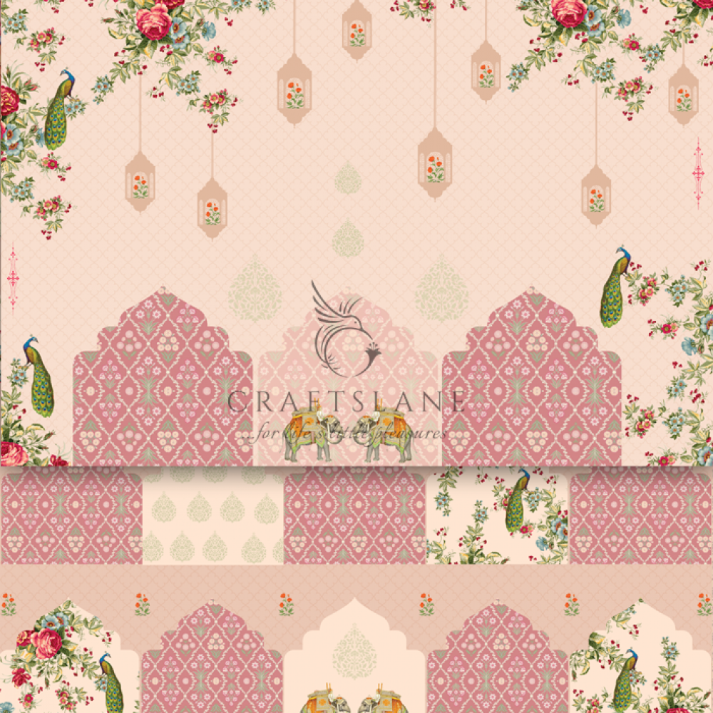 Modern Mughal   Découpage Paper   Craftslane
